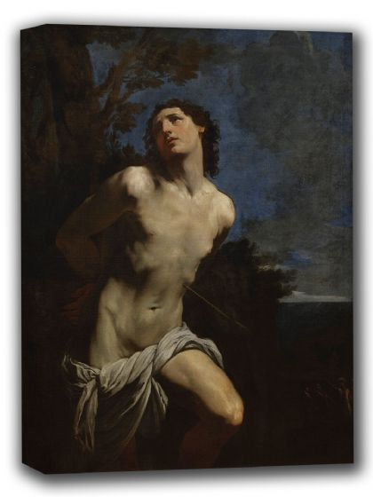 Reni, Guido: Saint Sebastian. Fine Art Canvas. Sizes: A4/A3/A2/A1 (002094)